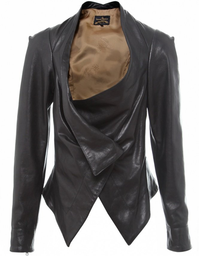 Vivienne Westwood bounty leather jacket