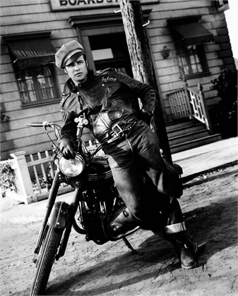 The Wild One 1953 Marlon Brando © Bettmann/CORBIS